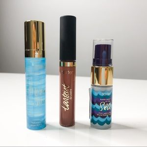 🦋🌙 NWT tarte -Lot of 3 Lip Paint & Face Cleanser